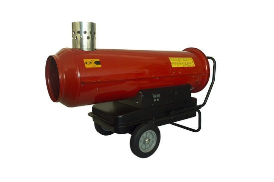 Hot air generator for warehouses
