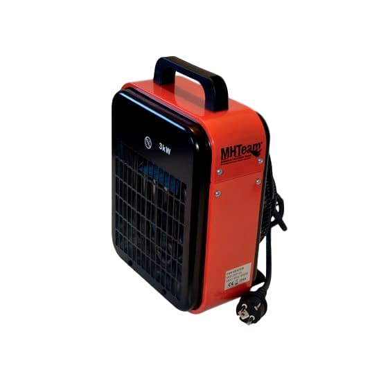 Electric heater 2000W IPX4 red electric