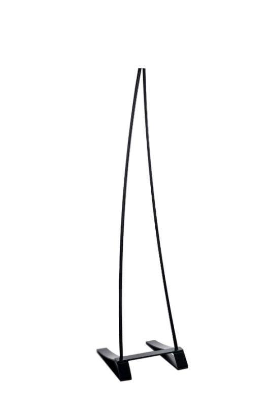 Supporto per lampada a infrarossi nero