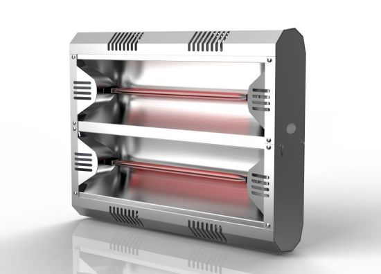 Riscaldatore industriale infrarossi MOEL