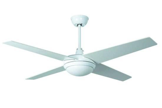 Ventilatore a Luce Led Marinada Bianco