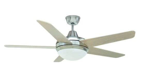 Ventilatore 5 Pale con Luce a Led Vento