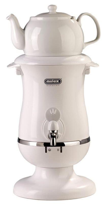 Samovar Mulex 2 litri Bianco