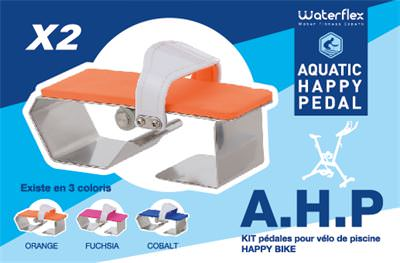 Waterflex Kit pedales pour velo de pisci