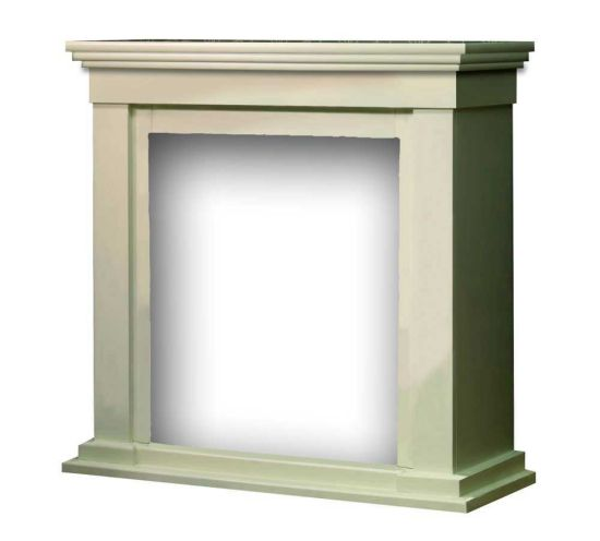 Fireplace Mantel Calgary white MDF wood