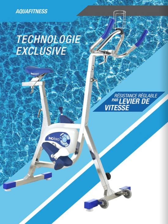 Bicycle for water fitness sports