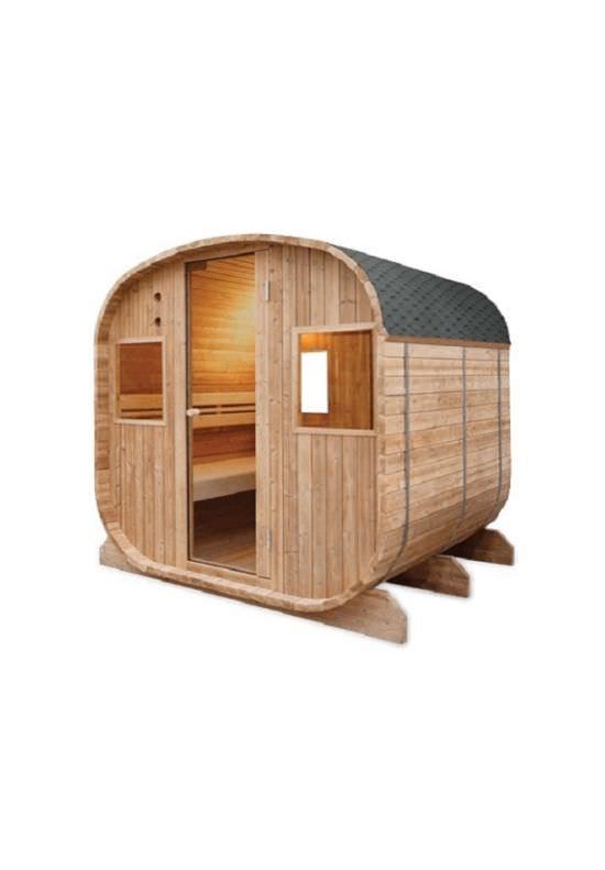 Sauna tradizionale da esterno a 6 posti