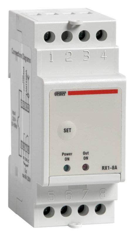 Attuatore remoto con ricevitore RX18A