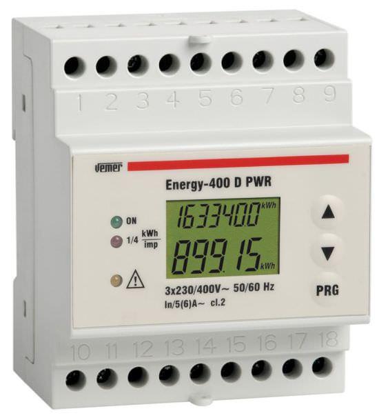 Contatore energia attiva ENERGY400 PWR