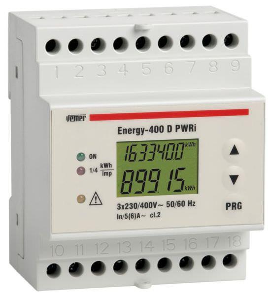 Contatore energia attiva ENERGY400 PWRi