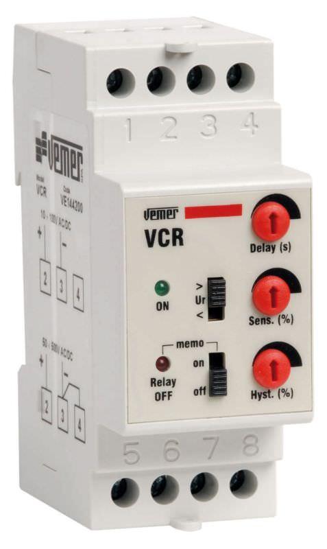 Rele di controllo corrente VCR 230 VAC