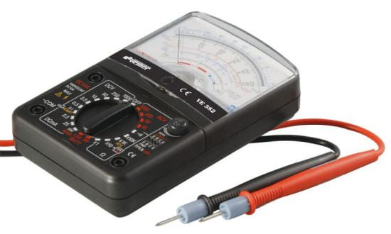 Tester analogico professionale vemer