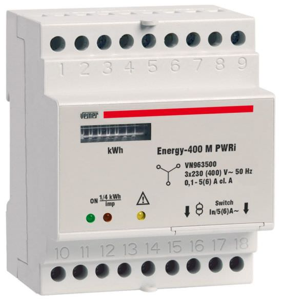 Contatore energia ENERGY400 M PWRi