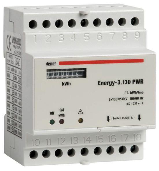 Contatore di energia ENERGY3130 PWR