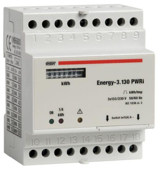 Contatore di energia ENERGY3130 PWRi