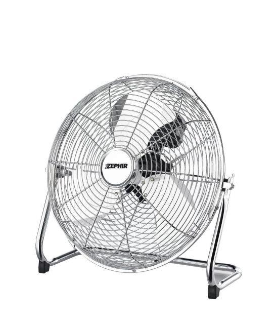 Ventilatore alta velocita cromato Zephir