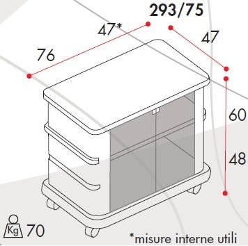 Mobili Porta TV Guarnieri GN29375S