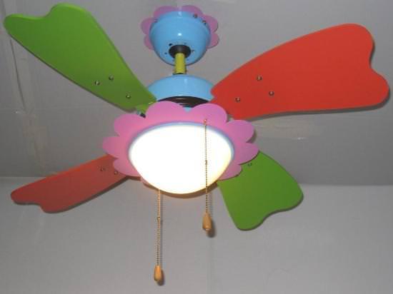 Aerazione forzata: Ventilatore da soffitto per bambini