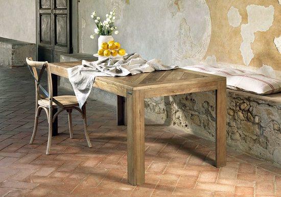 tavolo in olmo vecchio