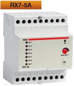 RX7-5A, attuatore remoto da barra