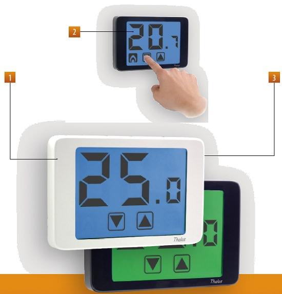 Termostato touchscreen vemer ve432100 ve432100 for Termostato vemer istruzioni