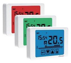 Crono termostato da parete per la regolazione della for Cronotermostato perry istruzioni