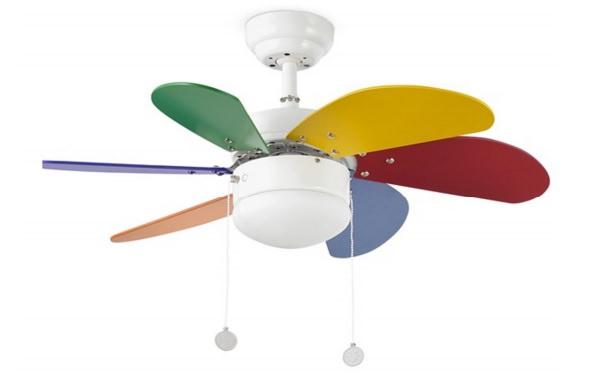 Ventilatori da soffitto colorati su mpcshop