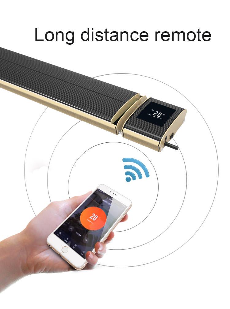 Riscaldatore Infrarossi con APP Wifi 3200