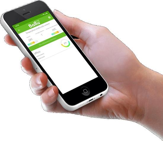 Riscaldamento wifi a basso consumo