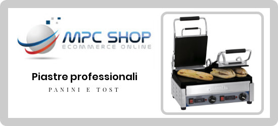 catalogo online piastre professionali per panini e tost