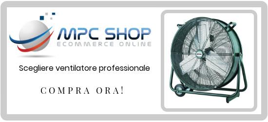 scegliere ventilatore professionale