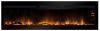 Large builtin electric fireplace