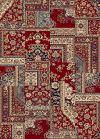 Tappeto orientale rosso Ninfea 120x170