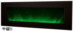Modern WIFI wall fireplace Volcano 5XL
