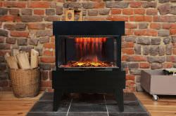 Chemin'Arte Black floor fireplace is a product on offer at the best price