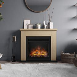 Electric Fireplace Frode Oak