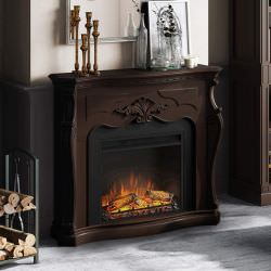 Classic style electric fireplace