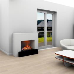 Hauptmann Steam Floorstanding Fireplace