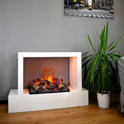 Humboldt water steam fireplace