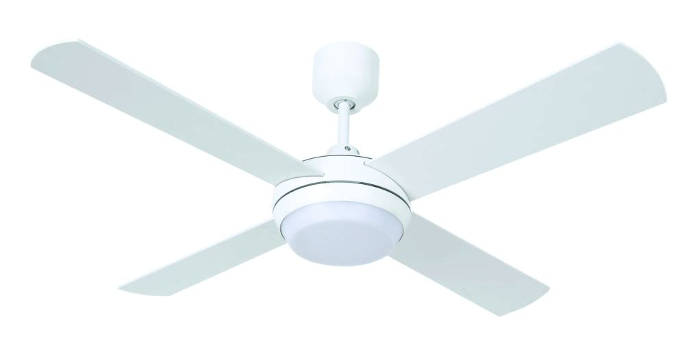 Ventilatore A Soffitto Con Luce A Led Beacon 210817 Altitude Eco Bianco Lampadario  Con 4 Pale Diametro 122 Cm E Telecomando Incluso Luce Led 17W 1000 Lm ...
