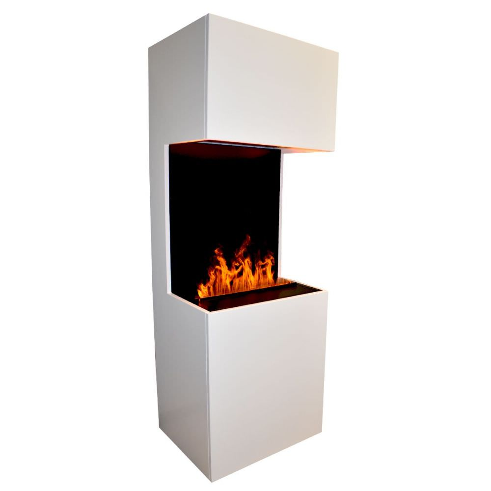 Fireplace To Be Mounted With Real Steam Flame Effect