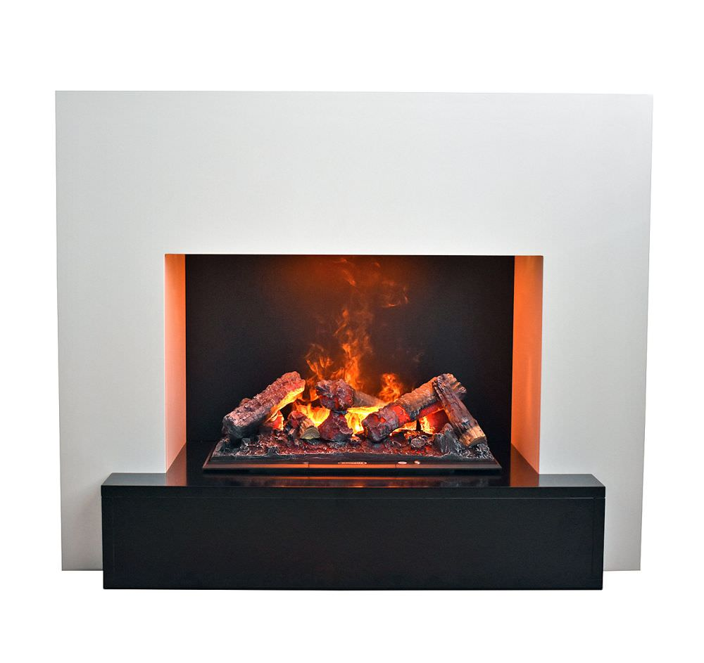 Steam And Flames Like A Real Fireplace With Real Fire Effect