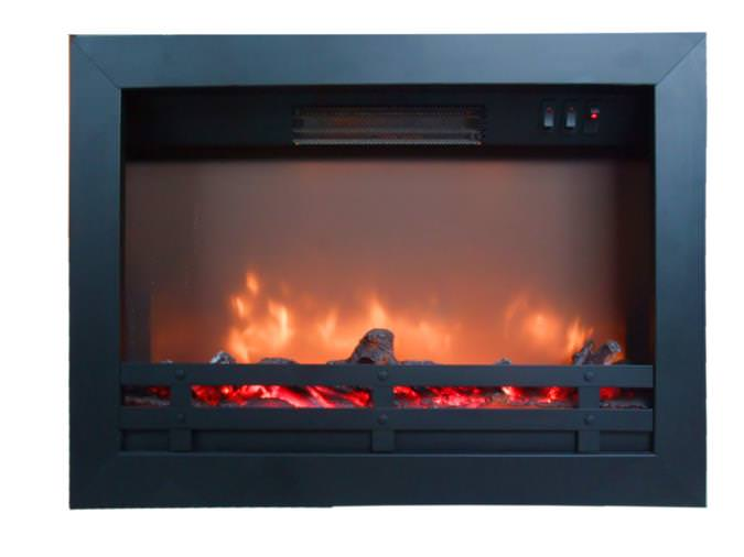 Flame Effect Electric Fires Part - 46: Electric Fire Insert Flandria